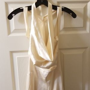 Nicole Miller Silk Wedding gown